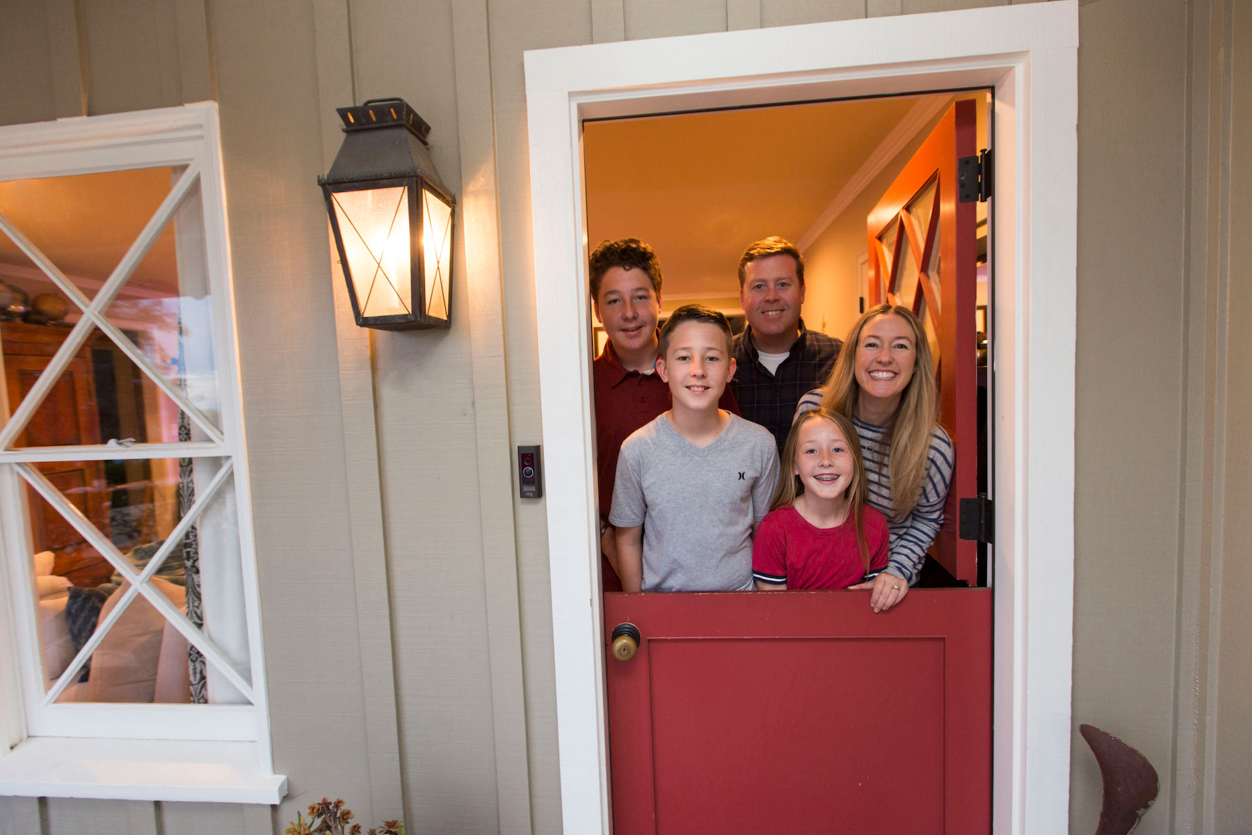 Sarah Durand family red door