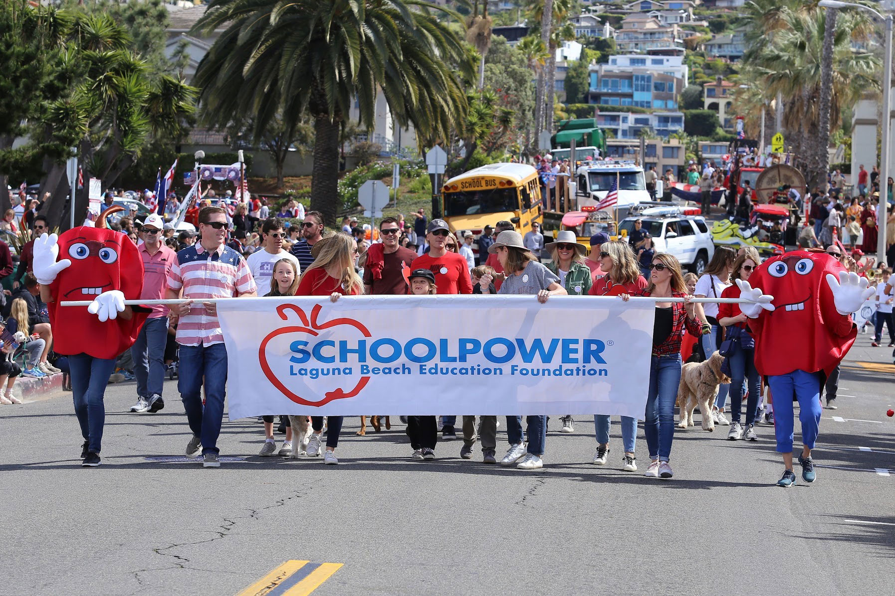 Help SchoolPower reach parade