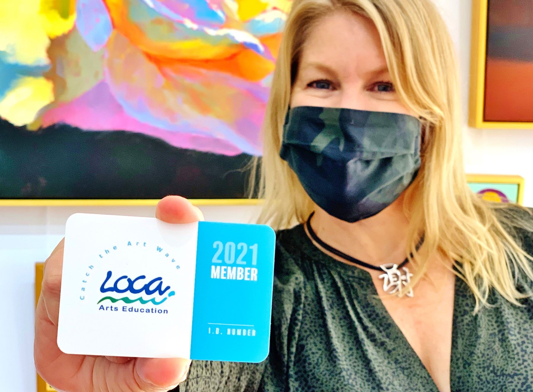 LOCA welcomes card