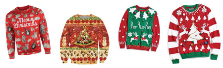 LB Chamber ugly sweaters