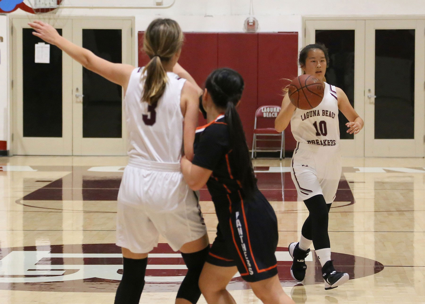 LBHS girls playing