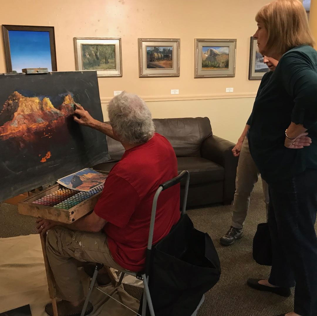 Community Art painting