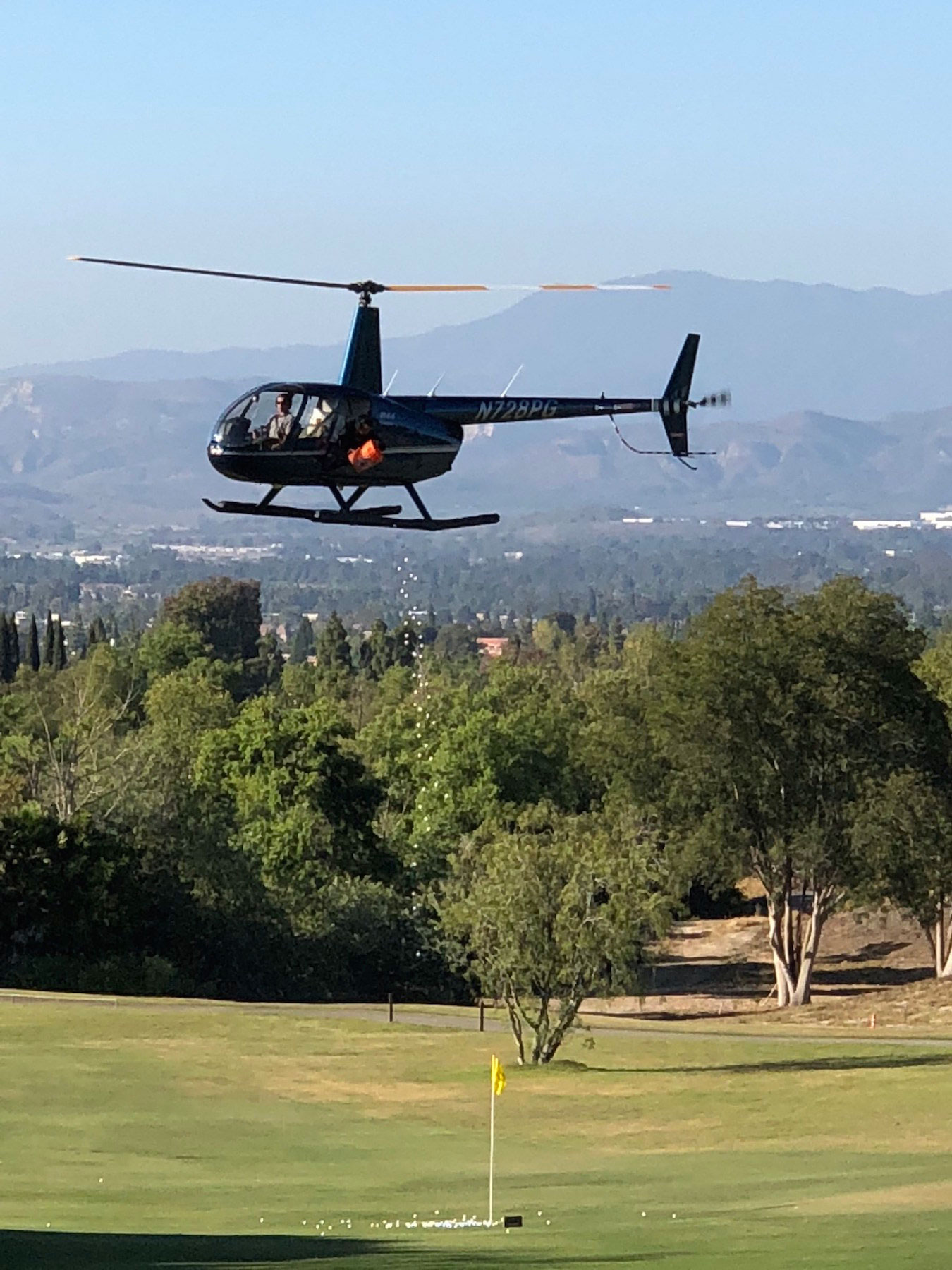 Laguna Hackers helicopter