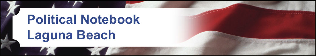 Political notebook banner