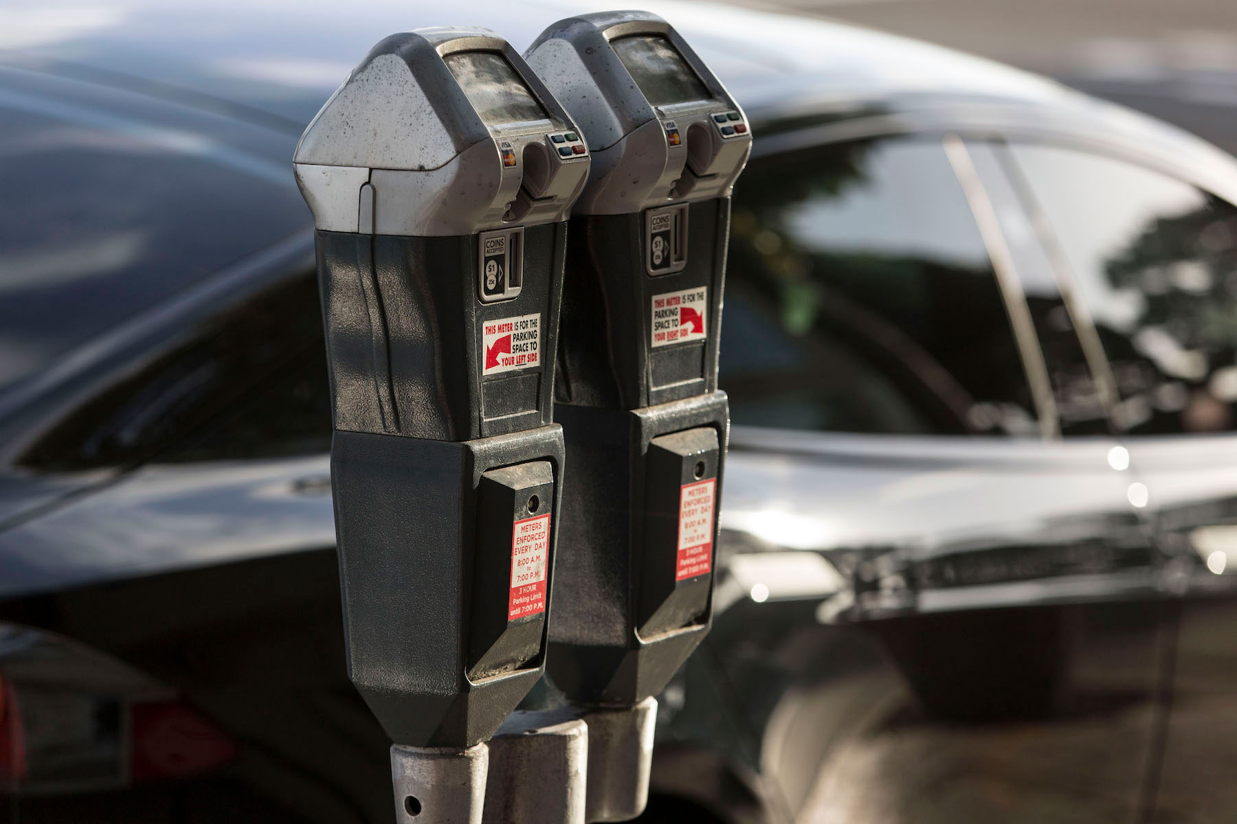 Council approves parking meters