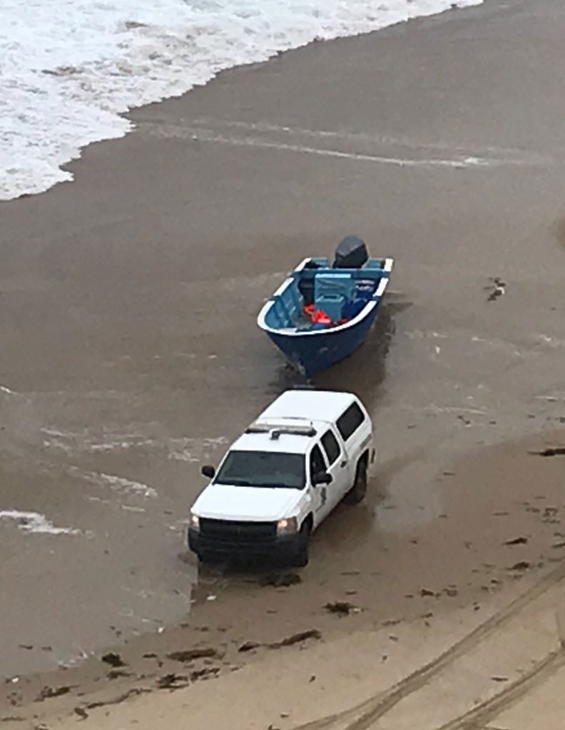 Police Files Panga Boat