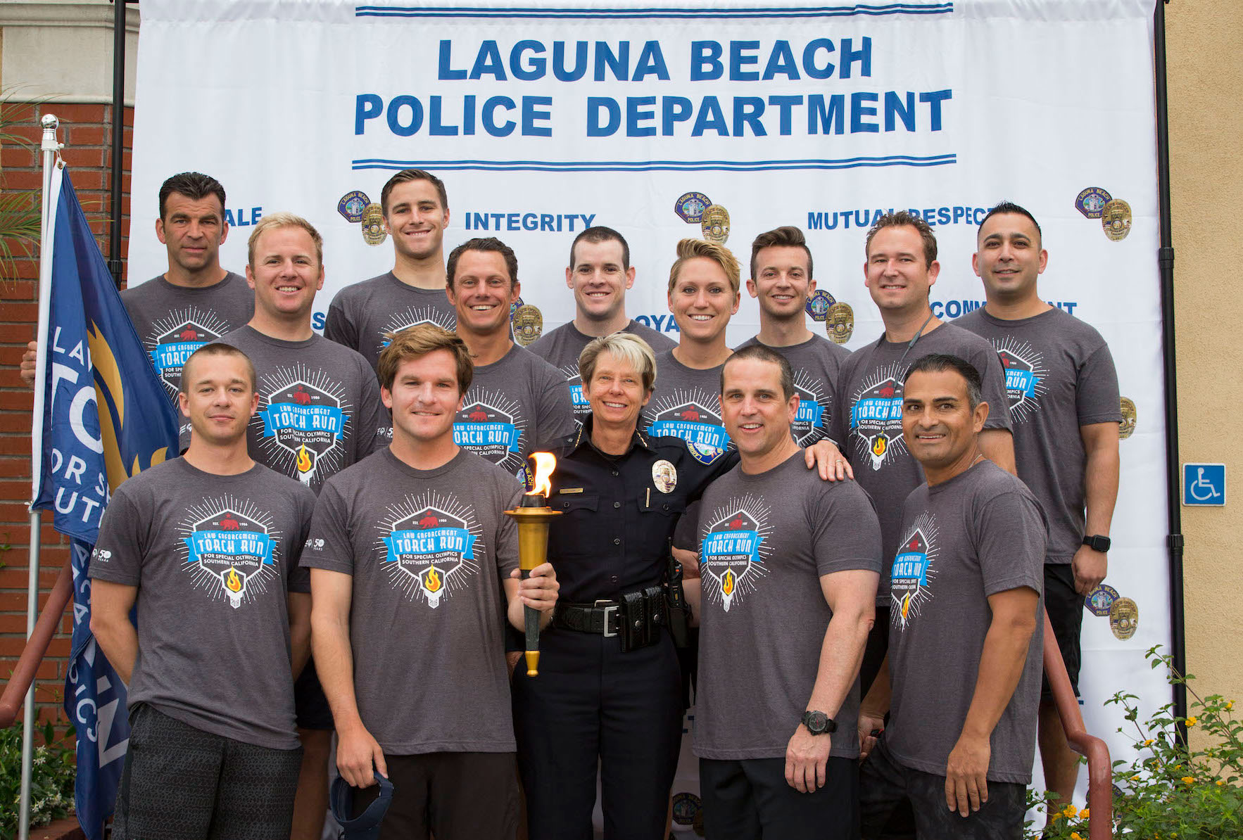 Police Files Torch Run 2