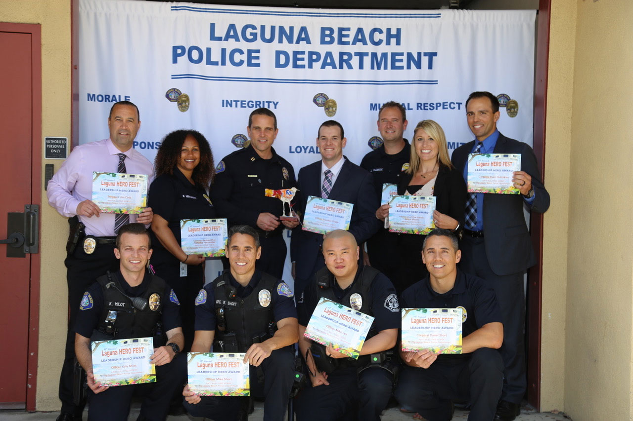 LBPD is honored