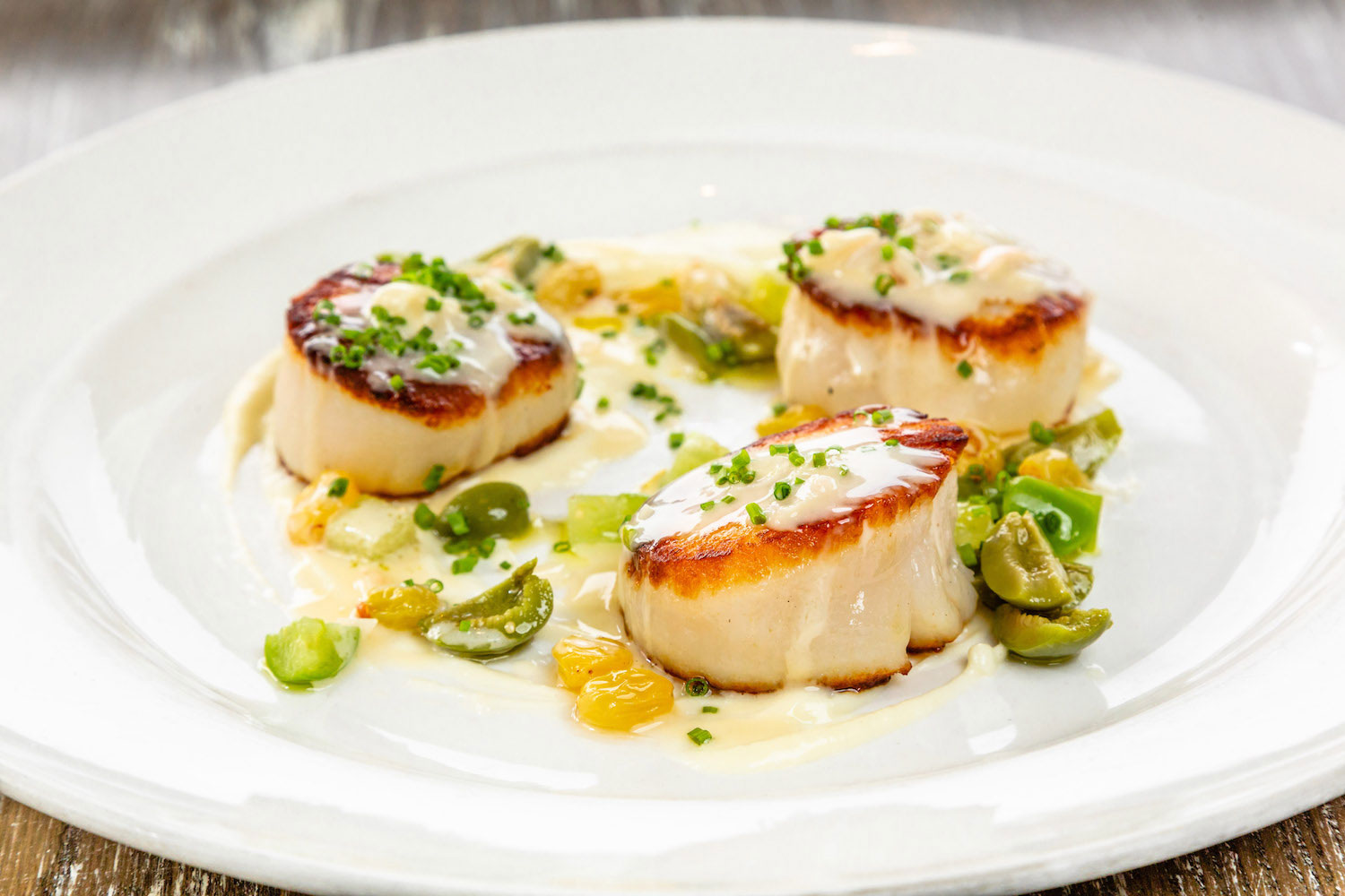 Culinary and scallops