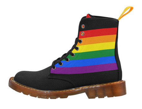 Rainbow reflections boots
