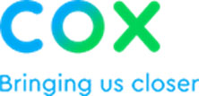 Cox moves logo