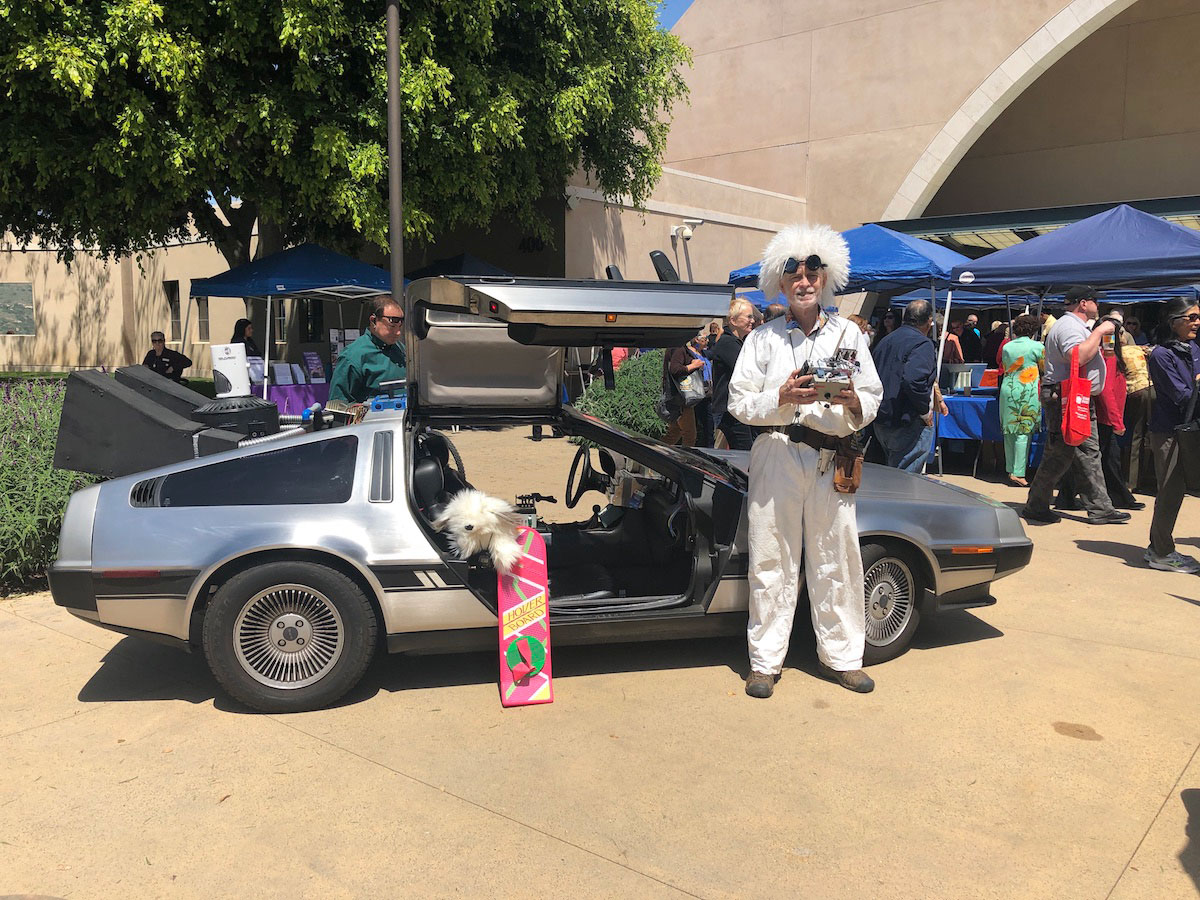With abundant DeLorean