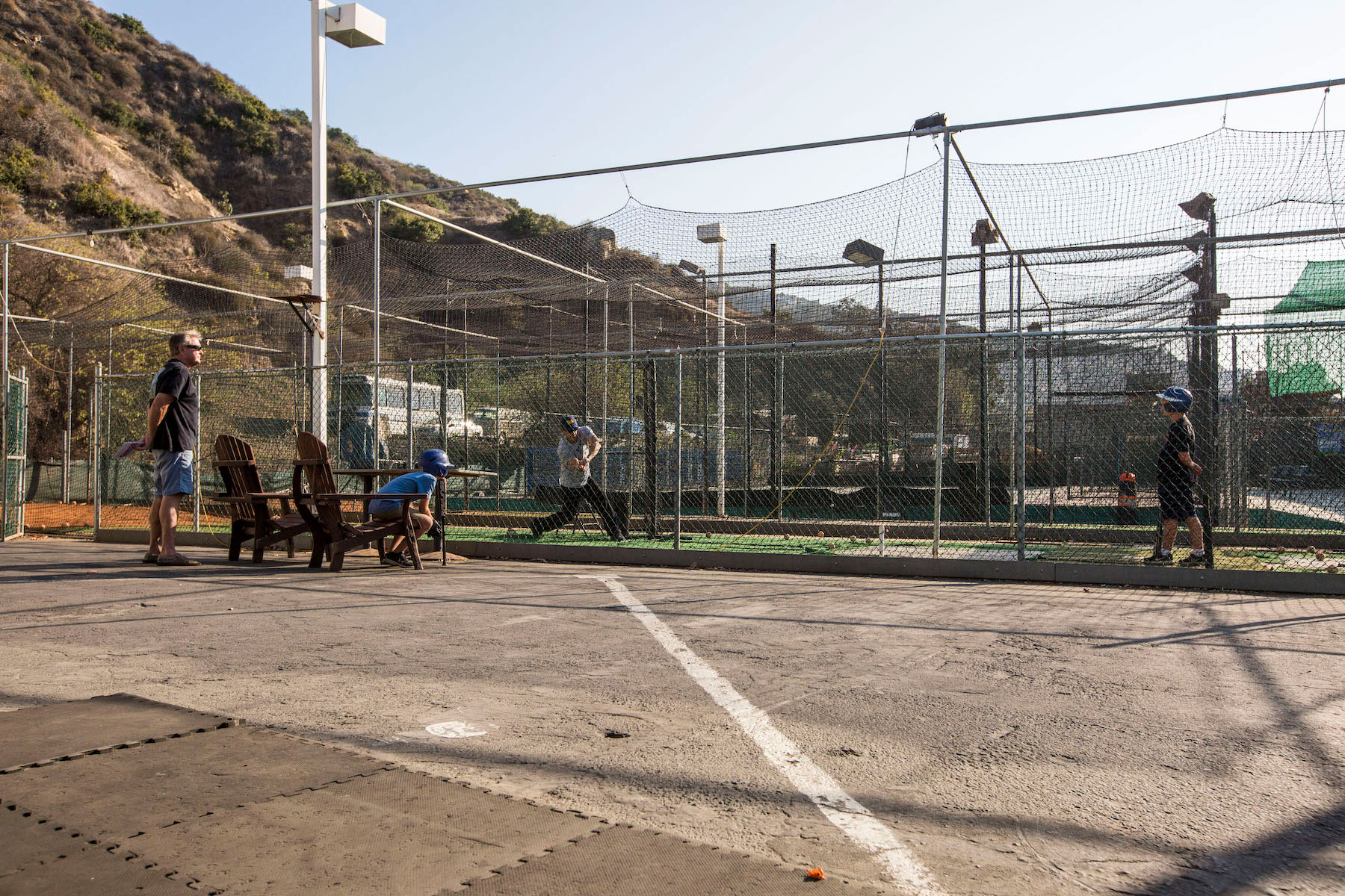 Orin Neufeld batting cages
