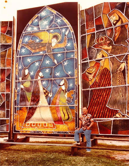 Boris Buzans stained glass