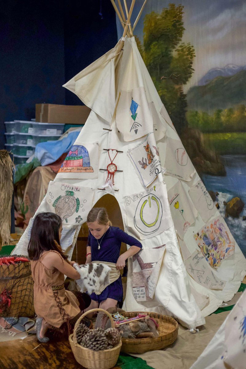Colonial Days teepee