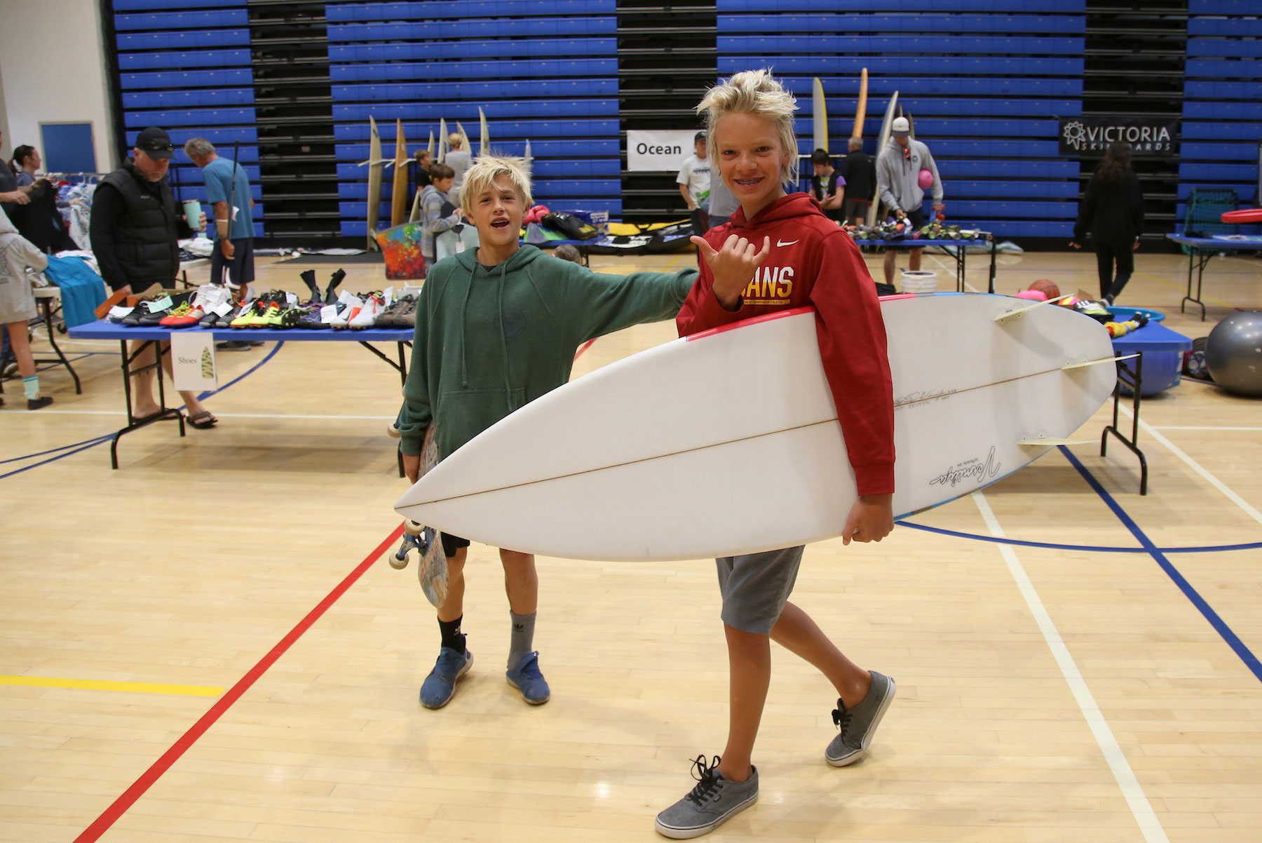11th annual boys and surfboards